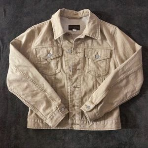 ‼️3 for $15‼️ REPOSH khaki denim jean jacket